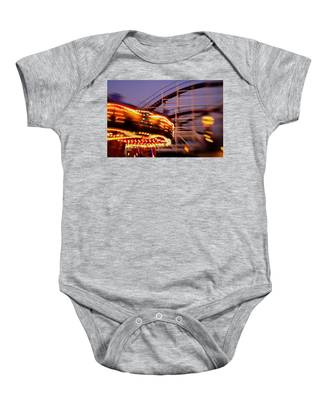 Did I Dream It Belmont Park Rollercoaster Baby Onesie
