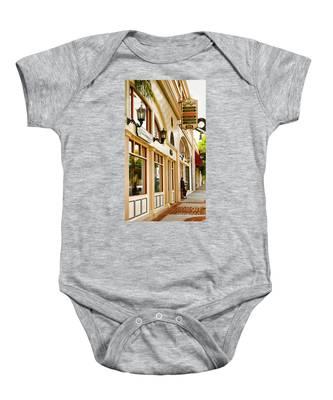Brown Bros Building Baby Onesie