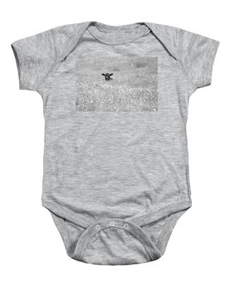 Buttercup In Black-and-white Baby Onesie