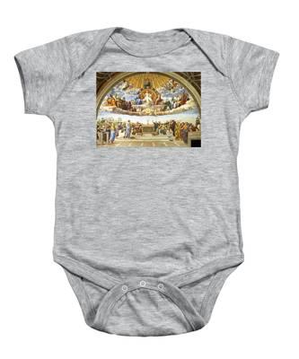 Disputation Of Holy Sacrament. Baby Onesie