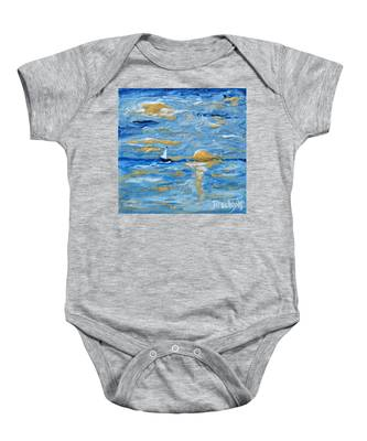 End Of The Storm Baby Onesie