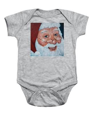 Merry Santa Baby Onesie