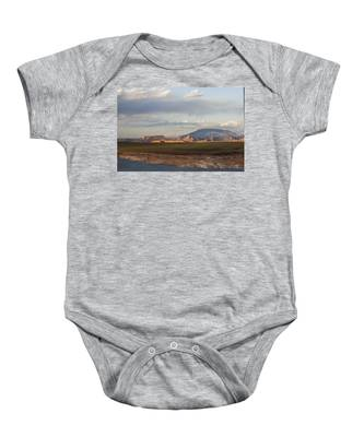 Navajo Mountain View Baby Onesie