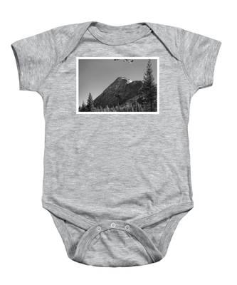 Pothole Dome In Yosemite Baby Onesie