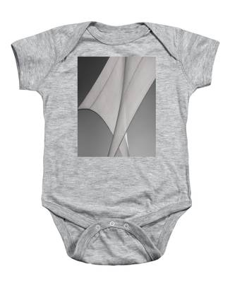 Sailcloth Abstract Number 3 Baby Onesie