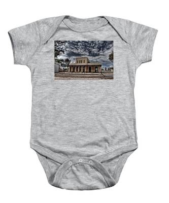 Tel Aviv First Railway Station Baby Onesie