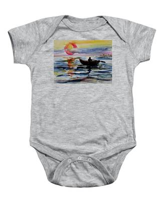 The Old Man And The Sea Baby Onesie