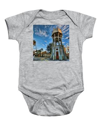The Old Water Tower Of Tel Aviv Baby Onesie