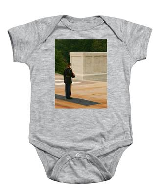 Tomb Of The Unknown Soldier Baby Onesie