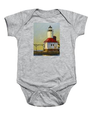 Waiting For The Sunset Baby Onesie