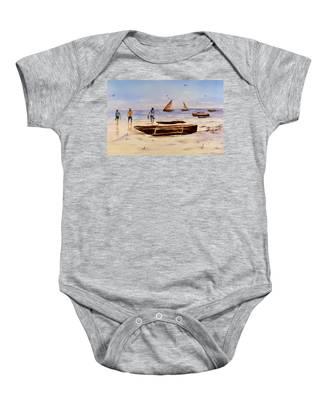 Zanzibar Forzani Beach Baby Onesie