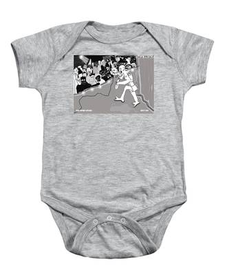 Rebel Without Applause Baby Onesie
