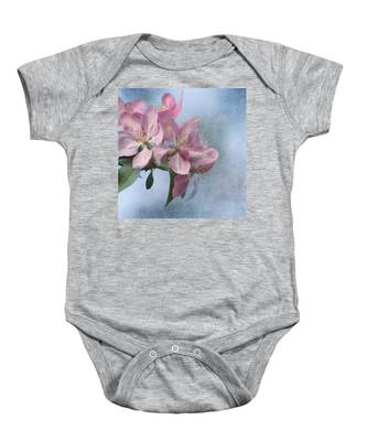 Spring Blossoms For The Cure Baby Onesie
