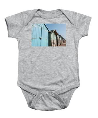 Beach Huts Vi Baby Onesie