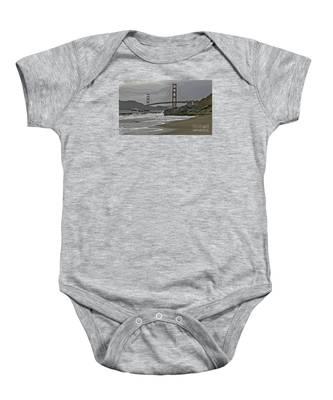 Golden Gate Study #1 Baby Onesie