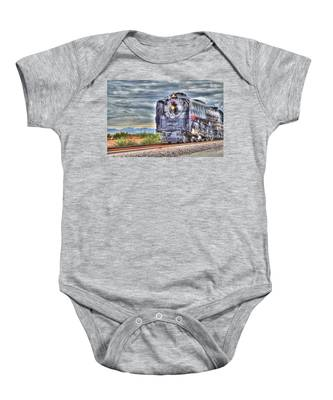 Steam Train No 844 Baby Onesie