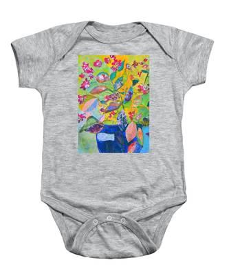 Begonias Baby Onesie
