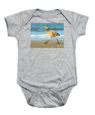 Bird With A Purpose Baby Onesie