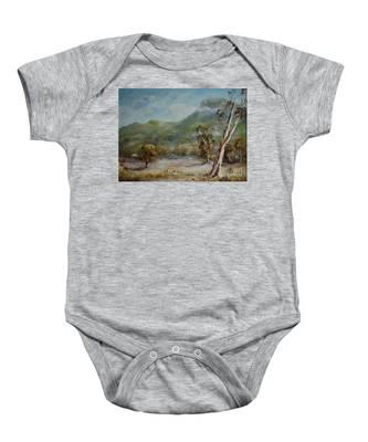 Boronia Peak Baby Onesie