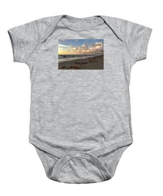 Cloudy Horizon  Baby Onesie