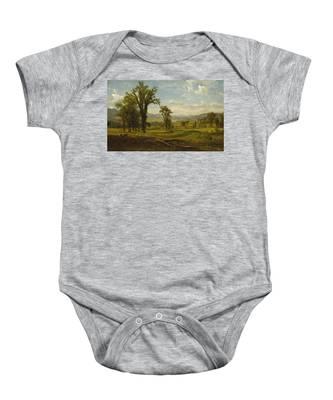 Connecticut River Valley, Claremont, New Hampshire Baby Onesie