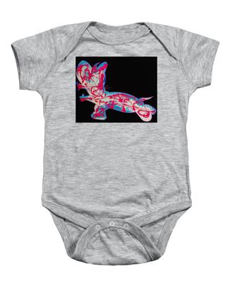 Cotton Candy Baby Onesie