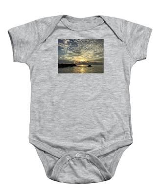 Cotton Clouds Baby Onesie