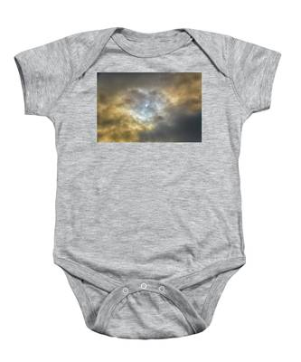 Curtain Of Clouds Eclipse Baby Onesie