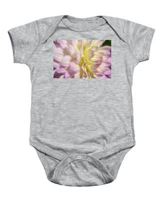 Dahlia Study 5 Painterly  Baby Onesie