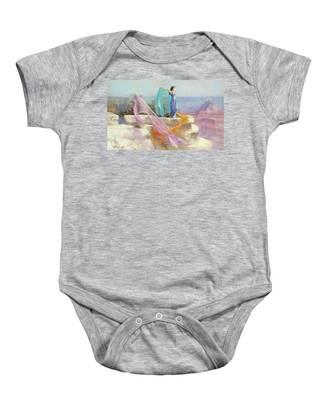 Retro Vintage Grand Canyon National Park Infant Bodysuit
