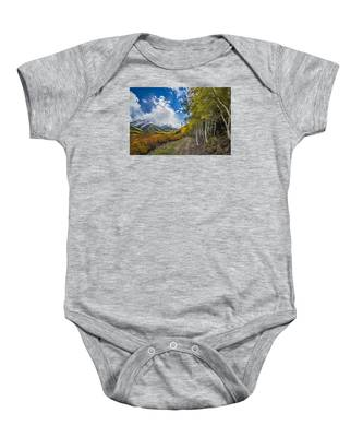 Fall In Colorado Baby Onesie