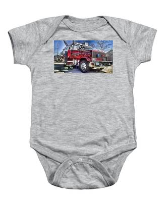 Firemen Honor And Sacrifice #2 Baby Onesie