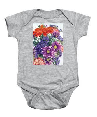 Flowers From Daughter Baby Onesie