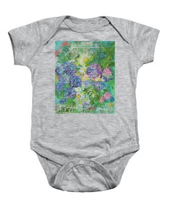 Garden View Baby Onesie