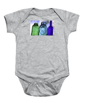 Baby Onesie featuring the photograph Glass by Dart and Suze Humeston