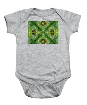 Green Glow Baby Onesie