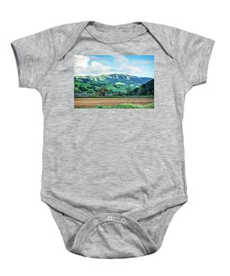 Green Mountains Baby Onesie