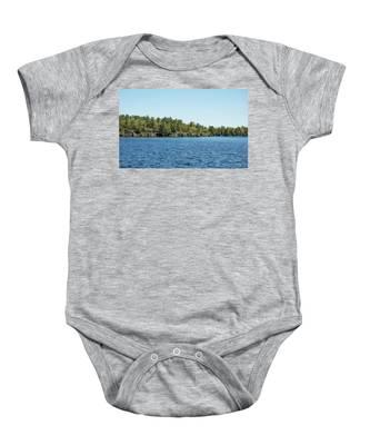 Gull Lake Baby Onesie