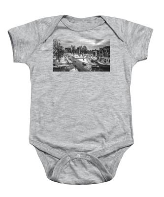 Hudson Falls Business District Baby Onesie