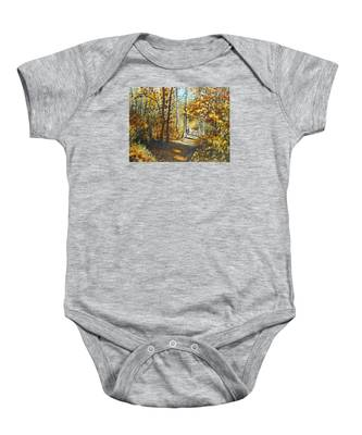 Indian Summer Trail Baby Onesie
