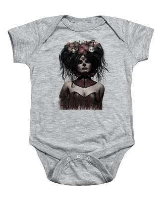 La Catrina Baby Onesie