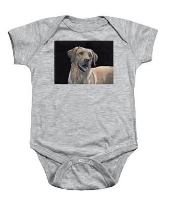 Labrador Portrait Baby Onesie