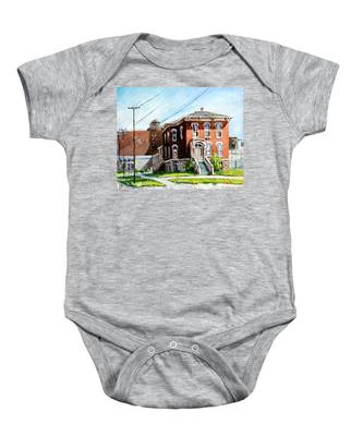 Last House Standing Baby Onesie
