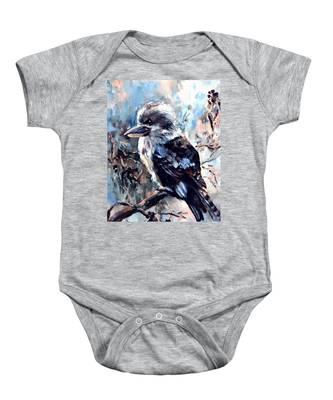 Laughing Kookaburra Baby Onesie