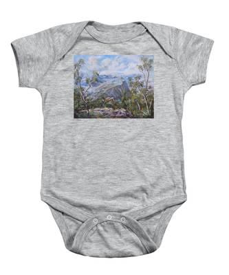 Mount Abrupt Grampians Victoria Baby Onesie