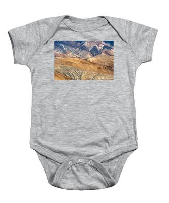 Mountain Abstract 4 Baby Onesie