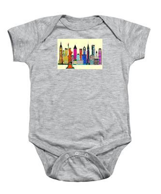 New York - The Big City Baby Onesie