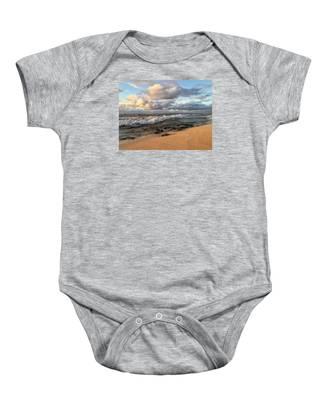 Ocean Calm Baby Onesie