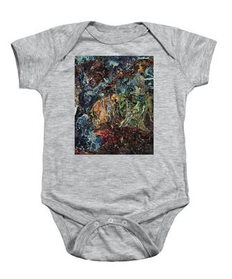 Opening Of The Fifth Seal After El Greco Baby Onesie