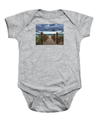 Pathway To The Clouds Baby Onesie